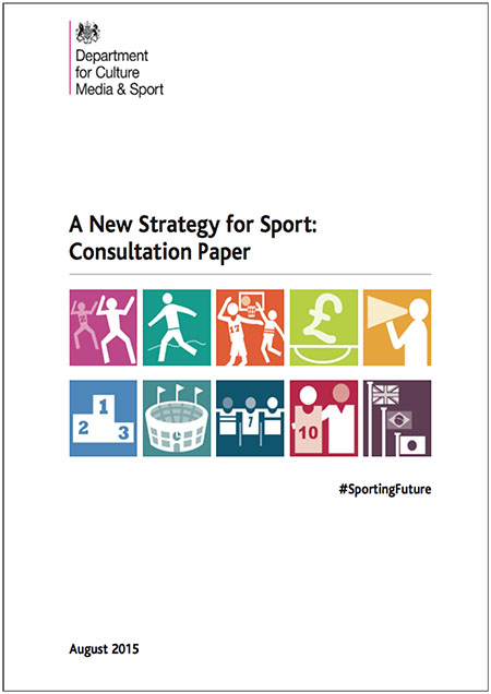 DCMS. A New Strategy For Sport. Consultation Paper 2015