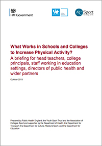What Works in Schools and Colleges to Increase Physical Activity?